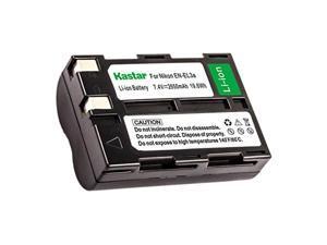 kastar camera battery for nikon en-el3a en-el3 battery and nikon d50, nikon d70, nikon d70s, nikon d100, nikon d100 slr cameras (color: black)