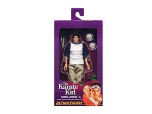 "neca the karate kid - daniel larusso - 8"" clothed action figures"