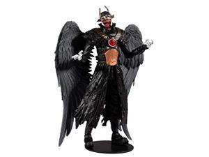mcfarlane - dc multiverse build-a 7 action figure - wave 2 - batman who laughs (hawkman)
