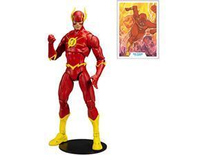 mcfarlane - dc multiverse 7 action figures - wave 3 - the flash