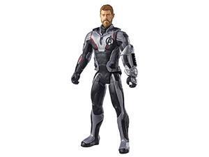 "avengers marvel endgame titan hero series thor 12""-scale super hero action figure toy with titan hero power fx port"