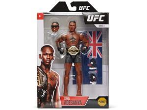 ufc ultimate series israel adesanya action figure - 6.5 inch collectible