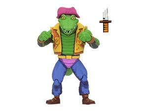 """teenage mutant ninja turtles: turtles in time - leatherhead tmnt series 2, 7"""" action figure"""
