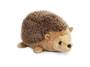 """auroraplush flopsie 12"""" mid-size stuffed animal collection (brown_ hedgehog)"""