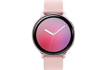 samsung galaxy active 2 40mm (gps) smartwatch, pink gold (renewed)