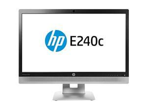hp elitedisplay e240c 23.8in video conferencing monitor (m1p00a8#aba) (renewed)