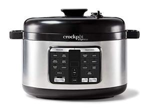 crock-pot 2109296 express pressure cooker, 6-quart, stainless steel