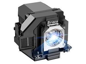 araca elplp96 /v13h010l96 with housing replacement projector lamp for epson vs250 vs355 ex5260 vs350 eb-s41 eh-tw650 tw610 tw5650 tw5600 x05 s05 u05 2042 2247u 2142w w05 990u u42 projector economical