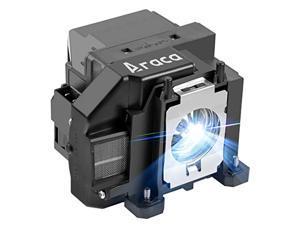 araca elplp57 /v13h010l57 projector lamp with housing for epson eb-450wi eb-440w eb-460 /powerlite 460 /brightlink 455wi /brightlink 450wi /powerlite 450w replacement projector lamp