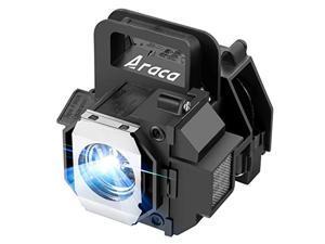 araca elplp49 /v13h010l49 replacement projector lamp with housing for epson powerlite home cinema 8350 8700ub 8500ub h373a h336a 7500ub 8345 6500ub 9500ub 9700ub
