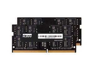 klevv hynix chips 16gb (2 x 8gb) ddr4 sodimm pc4-21300 2666mhz cl19 non-ecc 260 pin laptop notebook ram memory (kd48gs881-26n190d)