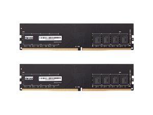 klevv hynix chips 16gb (2 x 8gb) ddr4 udimm pc4-25600 3200mhz cl22 unbuffered non-ecc 1.2v 288 pin desktop ram memory (kd48gu881-32n220d)