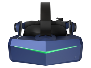 Pimax Vision 5K Super VR Headset with Wide 200°FOV, Dual 2560x1440p Resolution, Fast-Switched Gaming Panels for PC VR Gamers, Up to 180 Hz High Refresh Rate, USB-Powered, Modular Audio Strap