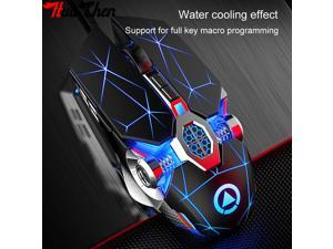 E-sports Gaming Mouse Wired Mute USB Computer Wired Mouse 7-key LED Color Mouse