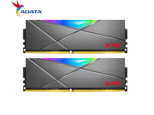 ADATA D50 DDR4 3600 (PC4 28800) 16GB (8GB×2) set desktop memory XPG-Longyao heavy armor RGB desktop computer memory