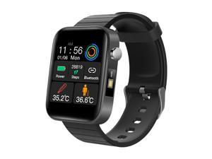 Smart Watch with Body Temperature Measure Sports Fitness Watch Heart Rate Blood Pressure Oxygen Monitor Smartwatch