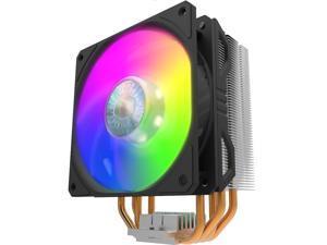 Cooler Master Hyper 212 RGB/T400 CPU Cooler, 4 CDC Heatpipes, 120mm PWM Fan, Aluminum Fins for AMD Ryzen/Intel LGA1200/1151