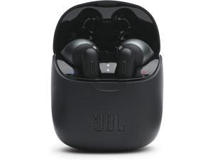 JBL Tune 225TWS True Wireless In-Ear Headphones - JBL Pure Bass Sound, 32H Battery, Bluetooth, Fast Pair, Comfortable, Wireless Calls, Music, Native Voice Assistant (Black)