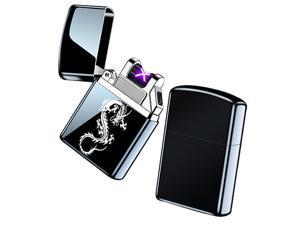 USB Rechargeable Smart Electric Lighter Windproof Flameless Lighter Lightweight Plasma Lighter
