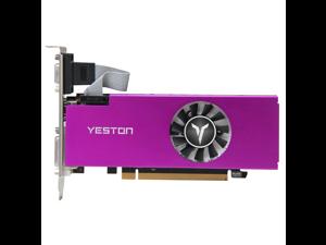 Yeston Radeon RX560 4GB GDDR5 LP PCI Express 3.0 DirectX12 video gaming graphics card external graphics card for desktop
