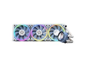 Yeston * zeaginal Sakura 360 integrated CPU supports Intel / AMD platform PWM temperature control fan water cooling radiator ARGB  synchronous fan