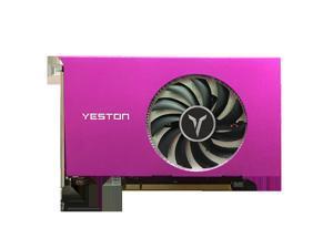 Yeston Radeon RX550 4GB GDDR5 1183MHz 512processors PCIExpress 3.0 DirectX12 Single Slot 4*HDMI compatible graphics card of Desktop
