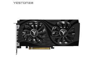 Yeston Radeon RX6600XT 8GB D6 GDDR6 128bit 7nm Desktop computer PC Video Graphics Cards support PCI-Express 4.0 3*DP+1*HDMI-compatible  graphics card