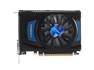 Yeston Radeon RX550 4GB GDDR5 1183MHz 512processors PCIExpress 3.0 DirectX12 Single Slot DP+HDMI compatible +DVI-D graphics card of Desktop