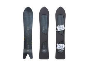 MONS Powder Snowboard Protection Soft Cover for board bag with Binding Open Scratch-Resistant Open