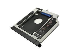 2nd HDD SSD Hard Drive Caddy Compatible with Lenovo Ideapad 310 510 with Bezel/Bracket