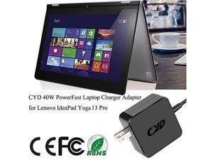 CYD 65W 20V 3.25A Powerfast Replacement for Laptop-Charger-Lenovo E431 E440 E450 E531 E540 E550 E555 L450 L540 S431 Ideapad S210 S500 U330 U430 U530 Z410 Z510 Flex 3 2 10 11 14 15 Y40 Power-Cord