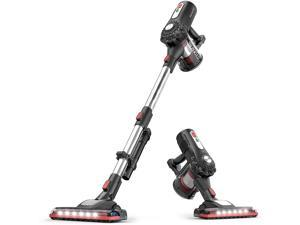 RoomieTEC Cordless Stick Vacuum Cleaner, 2 in 1 Handheld Vacuum with 120W Suction Power, Stainless Steel Filter, HEPA Filter, Designed for Floor, Carpet, and Pet Hair - RM595202105