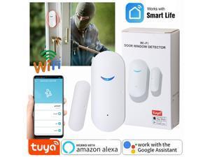 Home Security WiFi Smart Door Window Sensor Detector Burglar Alarm APP Control