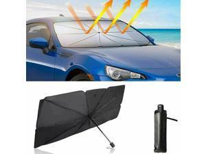 Car Windshield Sun Shade UV Rays and Heat Sun Visor Protector Foldable Reflector Umbrella