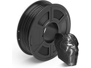 Black PETG 3D Printer Filament 1.75mm, 3D Printing Filaments 1 kg Spool, Dimensional Accuracy +/- 0.02 mm