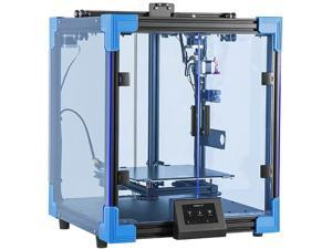 Ender 6 3D Printer Kit, Creality New Larger Core-XY Structure Budget Printer with 3X Printing Speed, Semi-Closed Build Chamber, Touch Screen, Silent Mainboard, Meanwell Power Supply 250×250×400mm