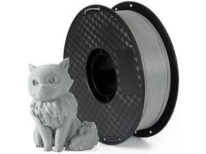 XiaZ 3D Printer Filament 1.75mm PLA Grey 1Kg Spool, 3D Printing Filaments Gray Fit Most FDM Printer with Dimensional Accuracy +/- 0.02mm