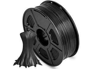 XiaZ Black PLA Plus (PLA+) 3D Printer Filament 1.75mm, 3D Printing Filaments 1 kg Spool, Dimensional Accuracy +/- 0.02 mm