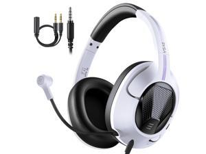 New EKSA E3D Gaming Headset Gamer 3.5mm Stereo Wired Headphones with Microphone Noise Cancelling For PC/PS4/Xbox One/Nintendo Switch