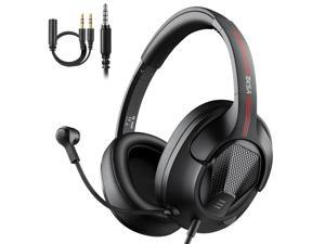 EKSA E3D Gaming Headset Gamer 3.5mm Stereo Wired Headphones with Microphone Noise Cancelling For PC/PS4/Xbox One/Nintendo Switch
