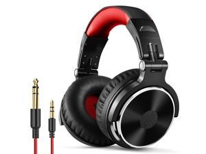 Oneodio Pro-10 Professional Studio DJ Headphones With Microphone Wired Monitors Headset  gaming headset with Microphone