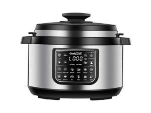 Geek Chef 8 Qt 12-in-i Multiuse Programmable Electric Pressure Cooker