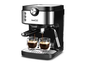 Espresso Machine 20 Bar Coffee Machine With Foaming Milk Frother Wand 1300W 900ml Removable Water Tank Coffee Maker