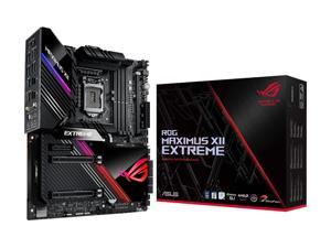 ASUS ROG MAXIMUS XII EXTREME (WiFi 6) LGA 1200 Intel Z490 SATA 6Gb/s Extended ATX Intel Motherboard (16 Power Stages, Quad M.2, 10Gbps & Intel 2.5Gb LAN, Bundled Fan Extension Card II & ThunderboltEX