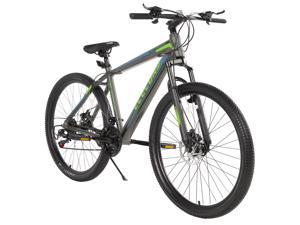 """Elecony 27.5"""" Mountain Bike, Shimano Drivetrain, Aluminum Frame, 21 Speed with Safer Mechanical Disc Brake, Front Suspension Anti-Slip Bicycle"""