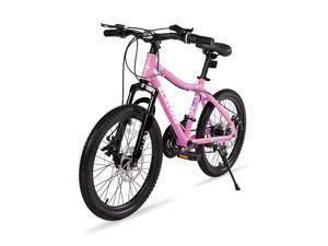 "Elecony 20"" Mountain Bike for Boys/girls, Shimano 21 Speed, Dual Suspension Safer Brake System for Kids, 20 Inch Frame, Lightweight Steel Construction"