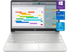 "HP Newest Business Laptop, 15.6"" FHD Touchscreen, Intel Core i7-1165G7 Processor, 32GB DDR4 RAM, 1TB PCIe SSD, Webcam, USB-C, Wi-Fi 6, Backlit Keyboard, Fingerprint Reader, Windows 10 Pro, Silver"