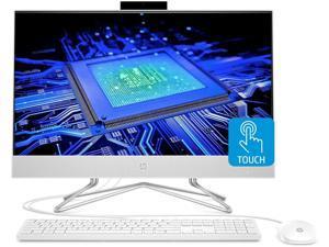"HP 2021 Newest All-in-One Desktop Computer, 23.8"" Full HD Touchscreen, 11th Generation Intel Core i7-1165G7 Processor, Intel Iris Xe Graphics, 64GB RAM, 1TB SSD + 2TB HDD, Webcam, Windows 10 Home"