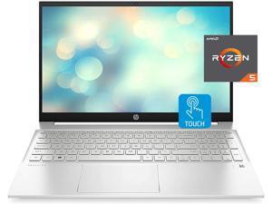 "HP 2021 Pavilion Laptop, 15.6"" FHD Touchscreen, AMD Ryzen 5 5500U Processor 2.1GHz to 4.0GHz, 16GB RAM, 1TB SSD, Webcam, B&O Audio, WiFi 6, Bluetooth, Backlit Keyboard, Numeric Keypad, Win 10 Home"