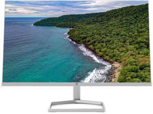 HP M24fw 24 inch FHD (1920 x 1080) 75Hz Anti-glare Monitor, On-screen controls, AMD FreeSync, Low blue light mode, White